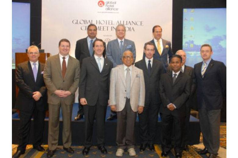 Global Hotel Alliance (GHA) held its first CEO meeting in India at the Leela Palace Bangalore.