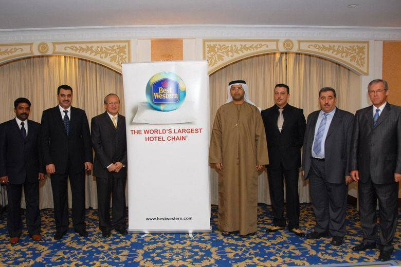 Senior Best Western hotels executive visits Mohammad Bin Haider Group