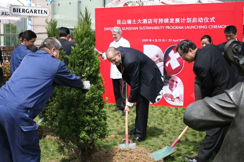 Swissôtel Hotels & Resorts Sustainability Program officially launched at Swissôtel Kunshan