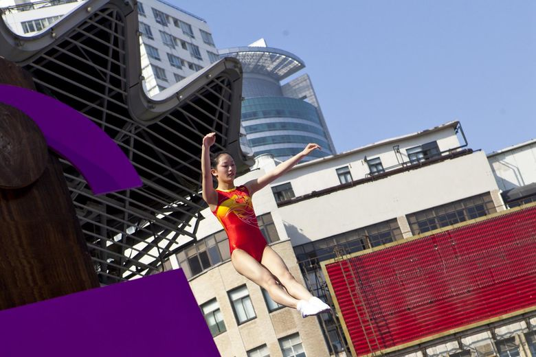 IHG hosts the World's Biggest Bed-Jump