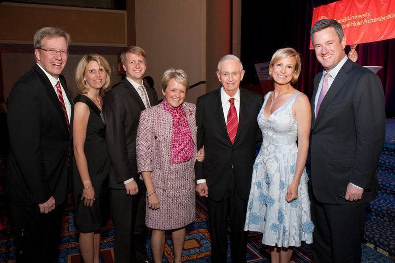 Cornell Honors  Bill Marriott, Jr. with 'Icon of the Industry Award'