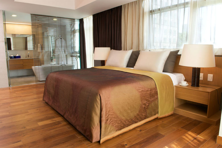 Guestroom at the new InterContinental Asiana Saigon Residences