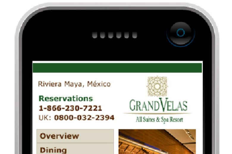 Mobile Website for the Hotel and Lodging Industries