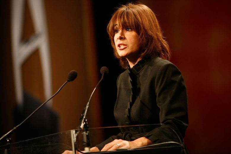 USA TODAY reporter Barbara De Lollis opened the 2010 Adrian Awards Gala at the Marriott Marquis