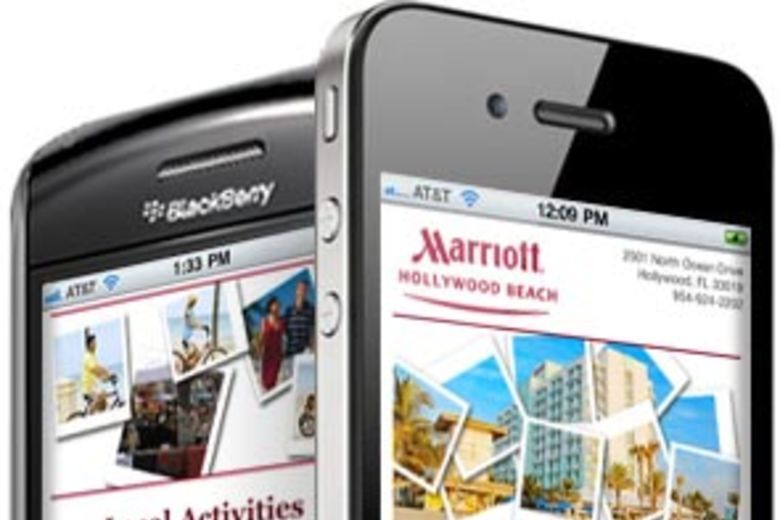 Hollywood Beach Marriott Mobile Site