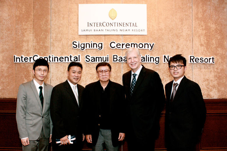 InterContinental to manage Koh Samui's first luxury resort