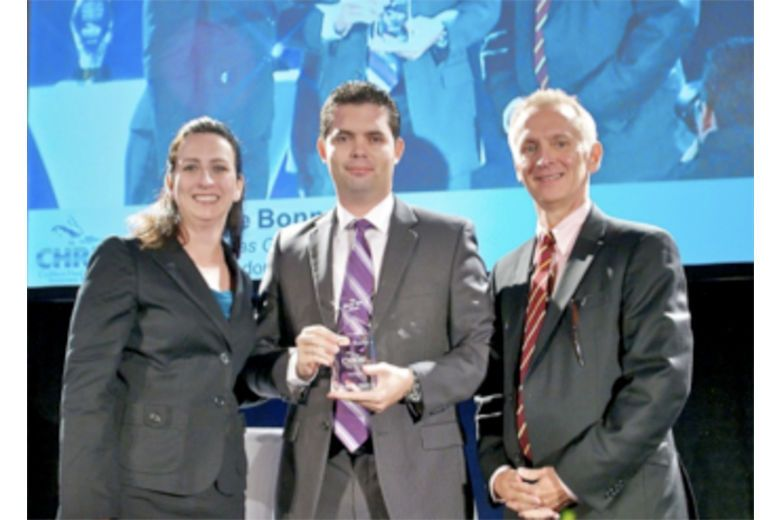 ISHC and BHN Present Maxence Bonnamain with the 2012 Rising Star Award