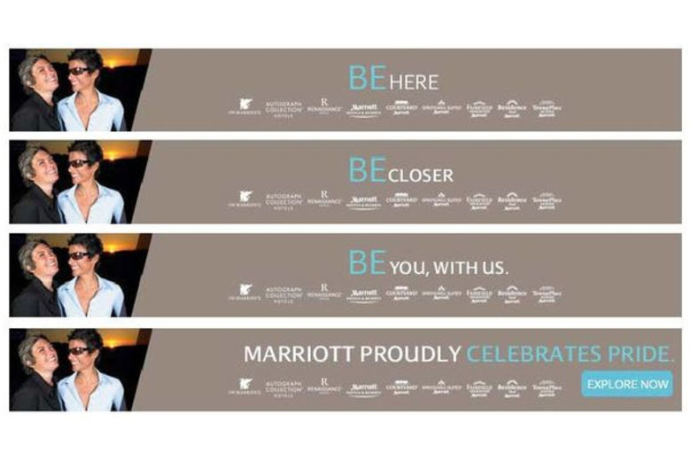 "Marriott Welcomes LGBT Guests to ""Be You, With Us"""