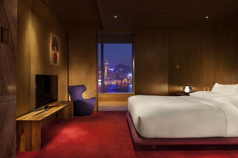 Hong Kong S Hotel Icon Unveils Designer Suite By Vivienne Tam