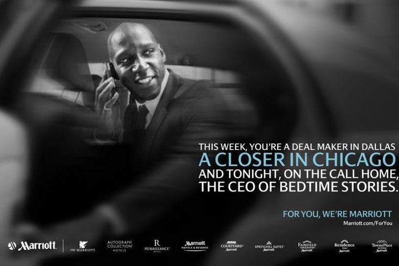 Marriott Launches New Ad Campaign for Frequent Business Travelers