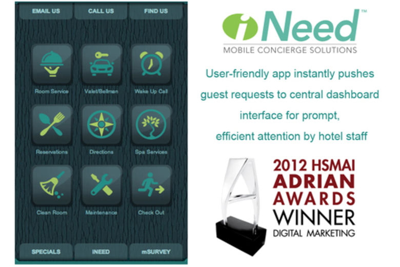 Digital Alchemy Honored with Silver Adrian Award for iNeed™ Mobile Concierge