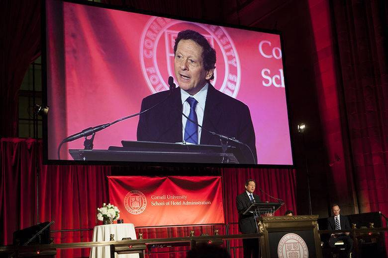 Sold-out Cornell awards gala honors hospitality luminaries, raises funds for student programs