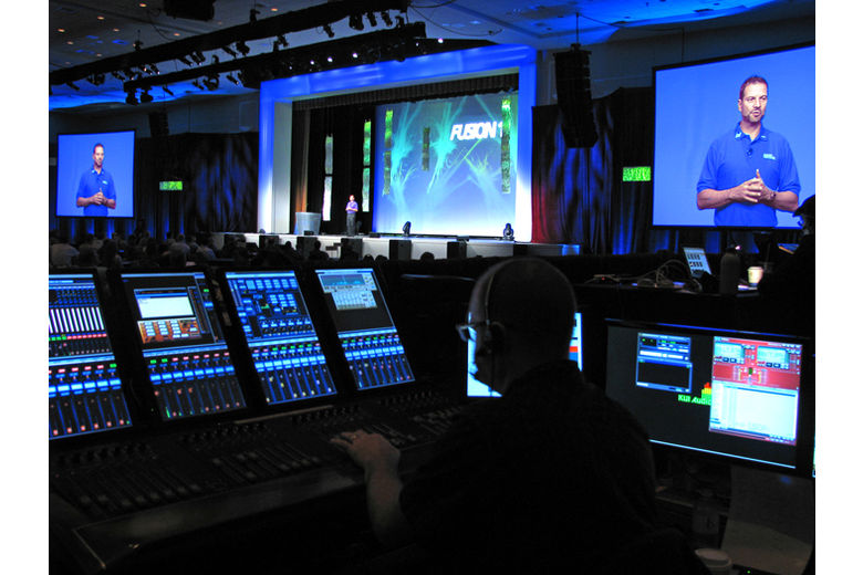 ONstage Digital Audio Mixing at Live Event