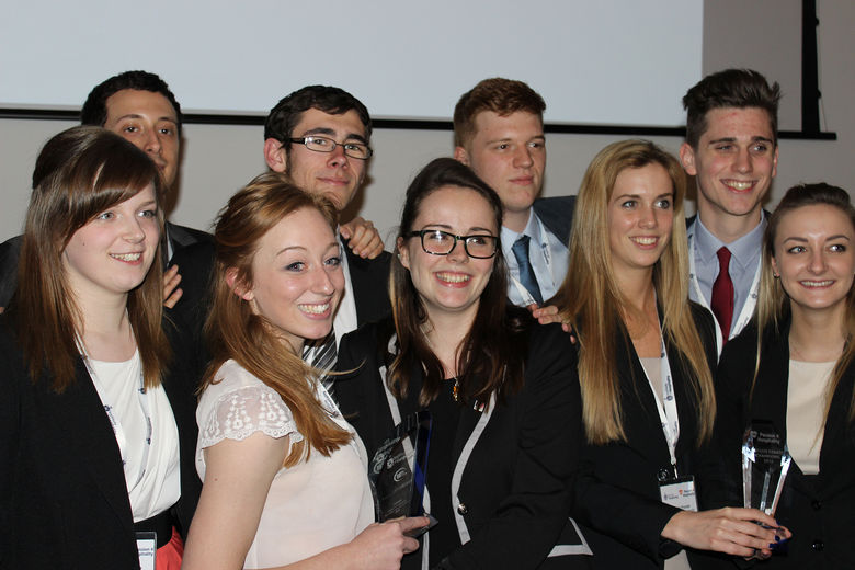 Bournemouth University Hospitality students 'do the double' at Passion 4 Hospitality