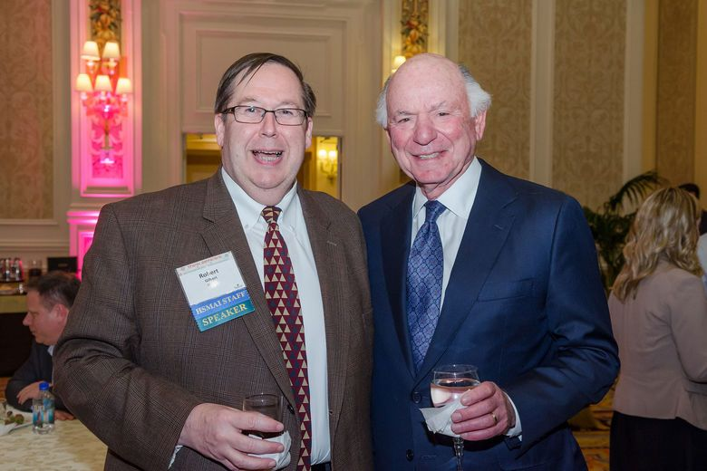 HSMAI President & CEO Bob Gilbert and Mike Leven at HSMAI Mike Leven Leadership Conference 2014