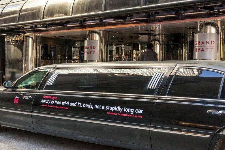 Luxury is free WiFi and XL beds, not a stupidly long car