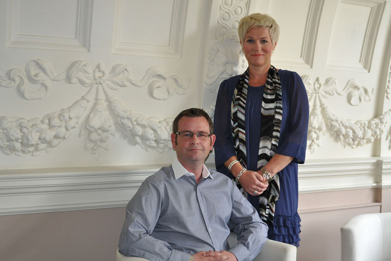Avenue9 Founders Kevin Edwards, Managing Director; and Philippa Witheat, Sales and Marketing Director