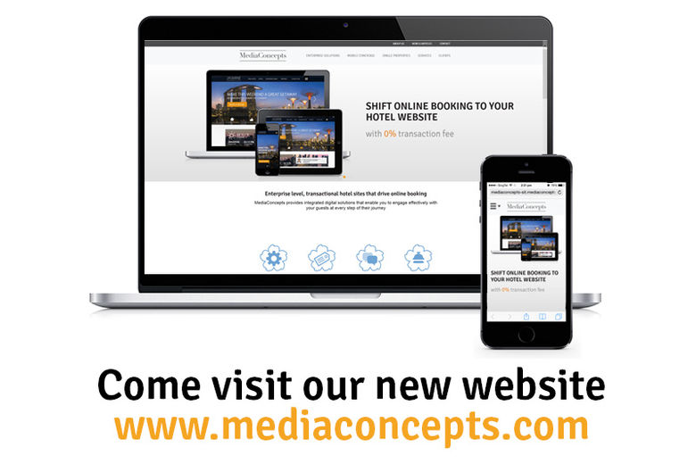 "MediaConcepts' new website now ""live"""