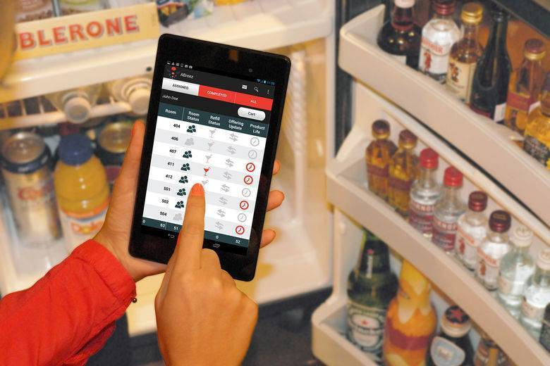 MEET 'A BREEZ'... Hospitality's First Cloud-Based, Mobile Application for Minibar Operations