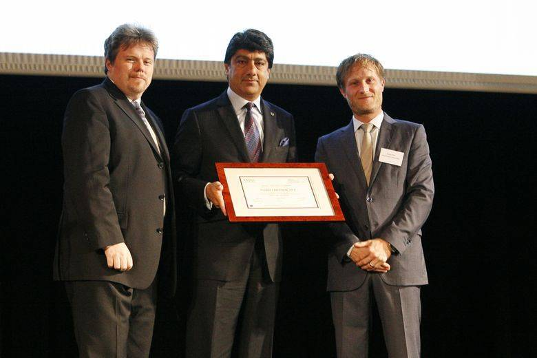 Puneet Chhatwal, CEO Steigenberger Hotel Group, is inducted into ESSEC-IMHI Hall of Honor