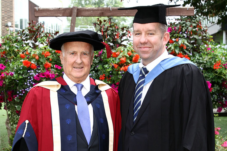 Oxford School of Hospitality Management awards Honorary Doctorate to David Levin