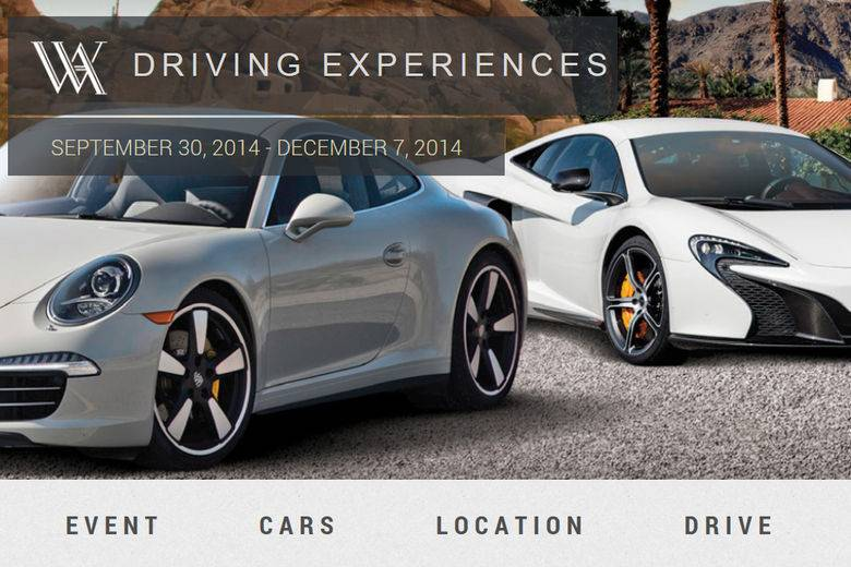 Waldorf Astoria Hotels & Resorts Unveils Ultimate Driving Experiences