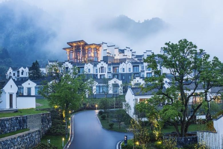 Official Launch of Banyan Tree Huangshan, China,