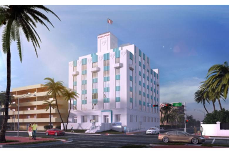 Hilton Garden Inn Miami South Beach Royal Exteriorsource: Hilton Garden Inn
