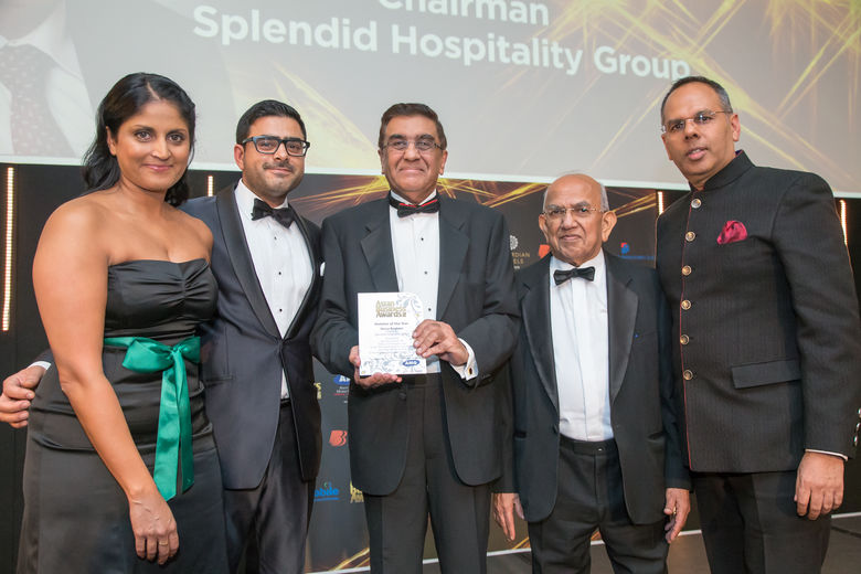 Winner: Shiraz Boghani, Chairman, Splendid Hospitality Group