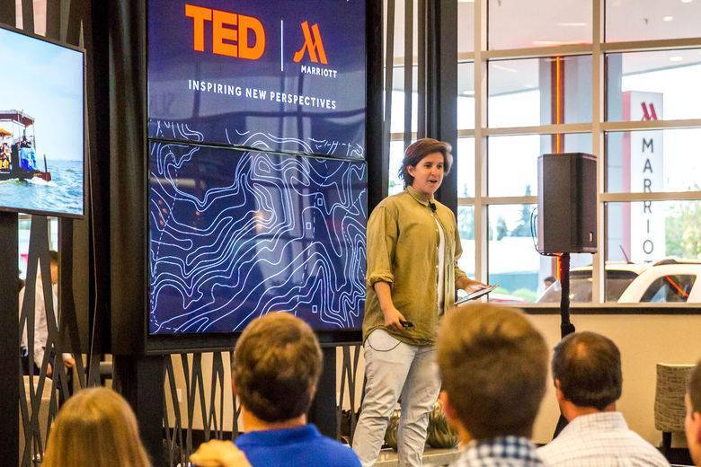 """TED Talks"" to Travelers at Marriott Hotels"