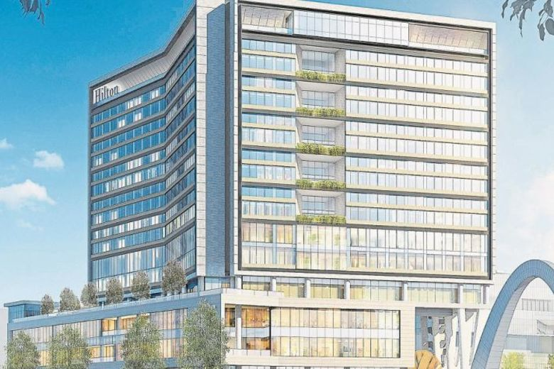 New Hilton Hotels Resort S Development To Bring The Flagship Brand Bogota Convention And Exhibition Capital