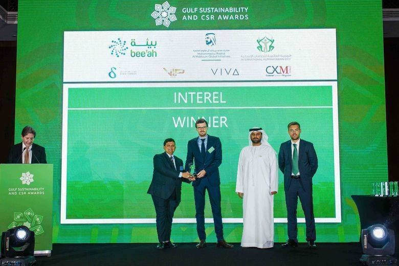 Interel Wins Multiple Gulf Sustainability And Csr Awards
