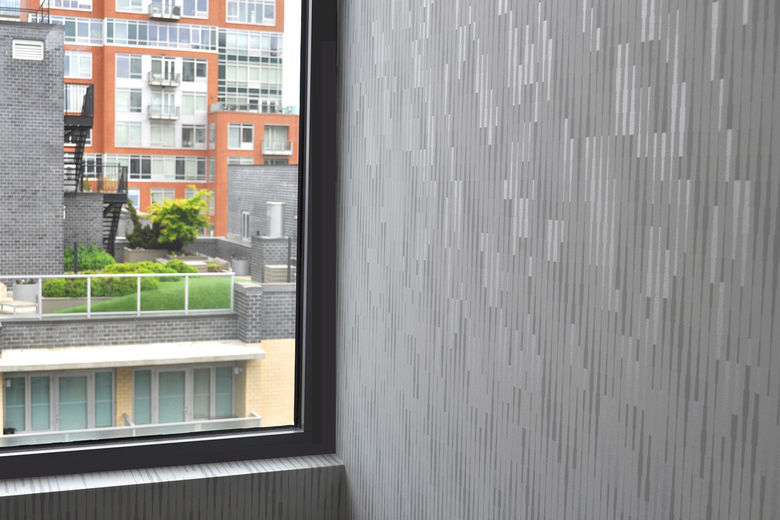 CASCADE WALLCOVERING @ 12 STORY HIGH-RISE in LIC