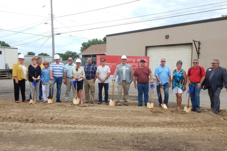 Kinseth Breaks Ground On Towneplace Suites In Dubuque's Millwork District!