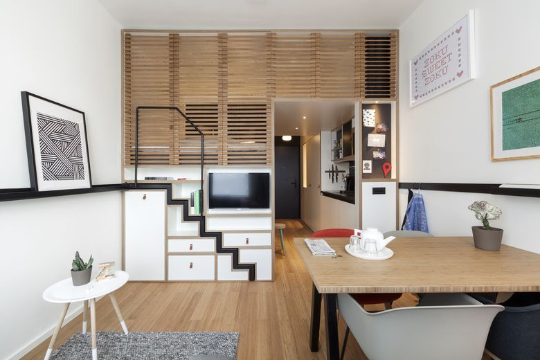 Zoku the next citizen m by youri sawerschel hospitality net - Decoration studio 20m2 ...