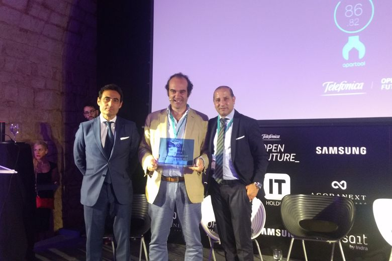 Smartvel wins the first prize to the Best Travel Tech Startup 2017