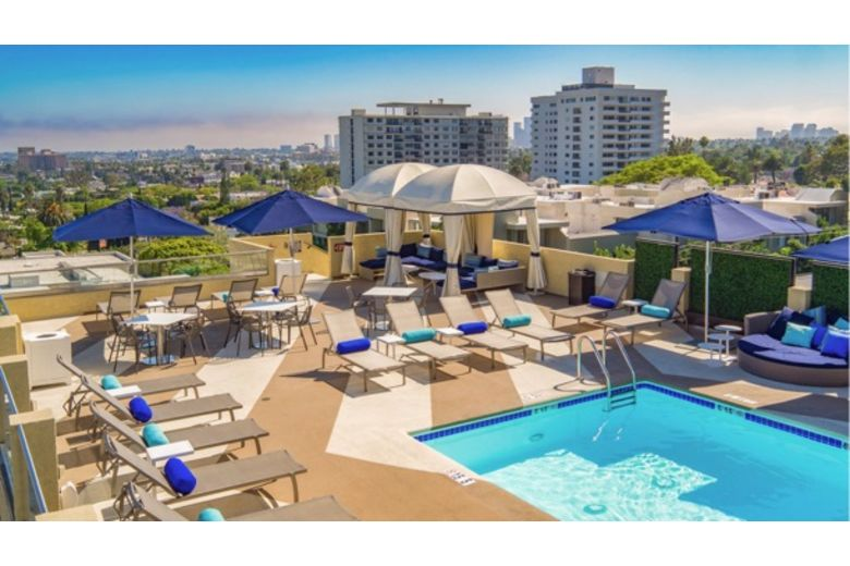 Le Montrose Suite Hotel in West Hollywood, CA, managed by OLS Hotels & Resorts