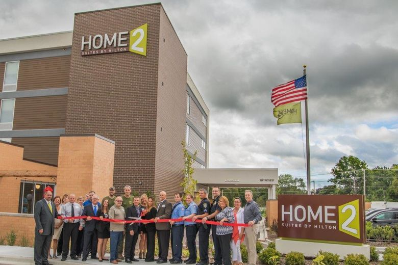 Kinseth Celebrates Ribbon Cutting & Grand Opening Celebration At The  Home2 Suites By Hilton Menomonee Falls, Wisconsin!