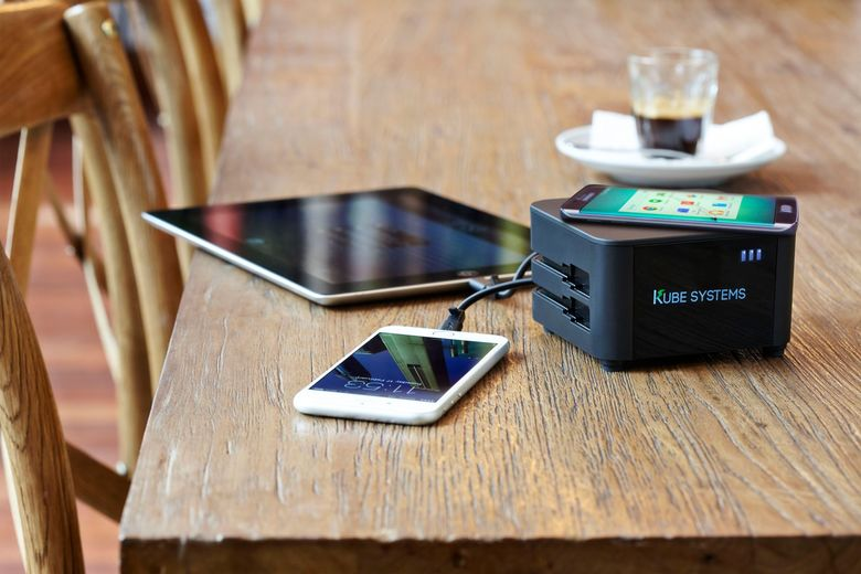 Kube Systems Portable Charging Solution is Supporting Restaurants' Mobile Adoption Trends