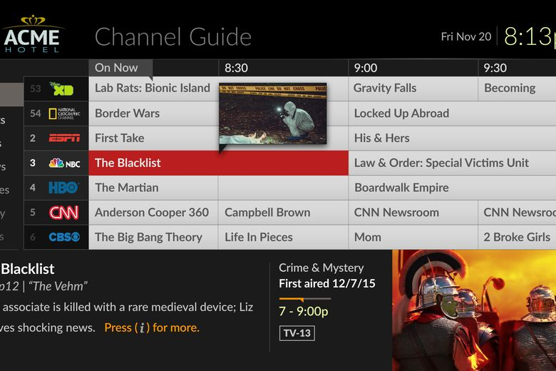 Evolve® Channel Guide