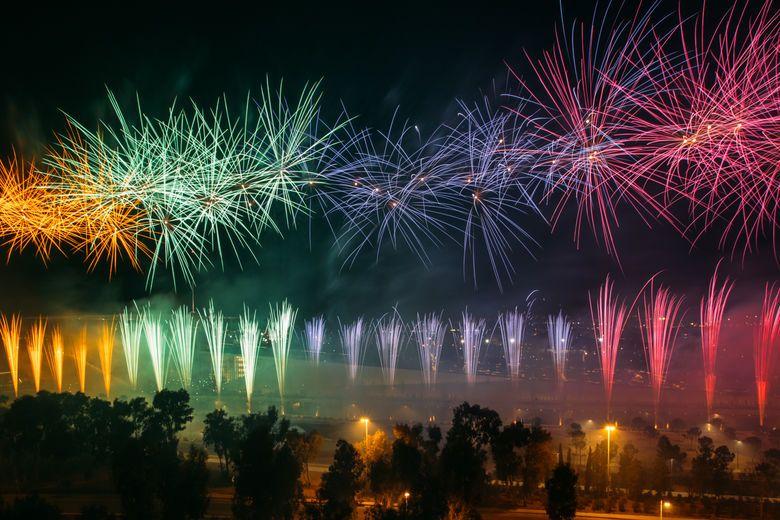 Pavlos Nanos' pyro choreography | Nanos Fireworks