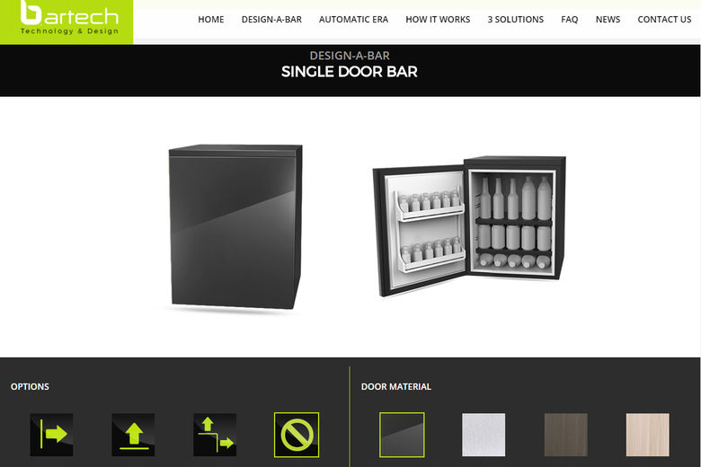 Bartech Launches New Corporate Website to Showcase Latest Advances in Hotel Minibar Automation and Customization