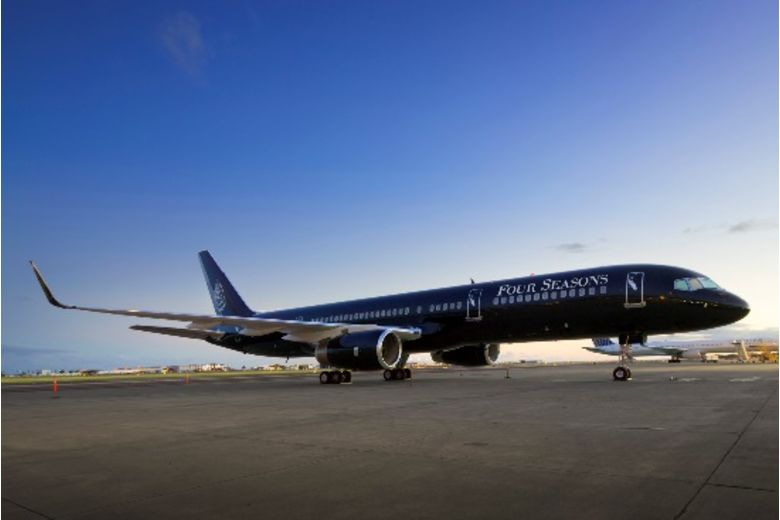 four seasons hotels and resorts announce 2019 private jet