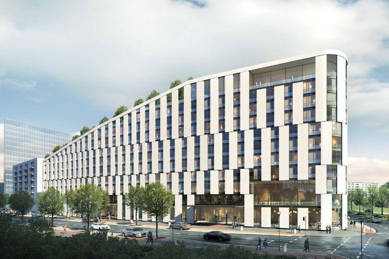 scandic hotels to open one of frankfurt s largest conference hotels hospitality net. Black Bedroom Furniture Sets. Home Design Ideas
