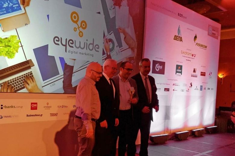 EyeWide Wins Best Hotel Digital Marketing Agency Plus Two More Prizes at the Greek Hospitality Awards 2018