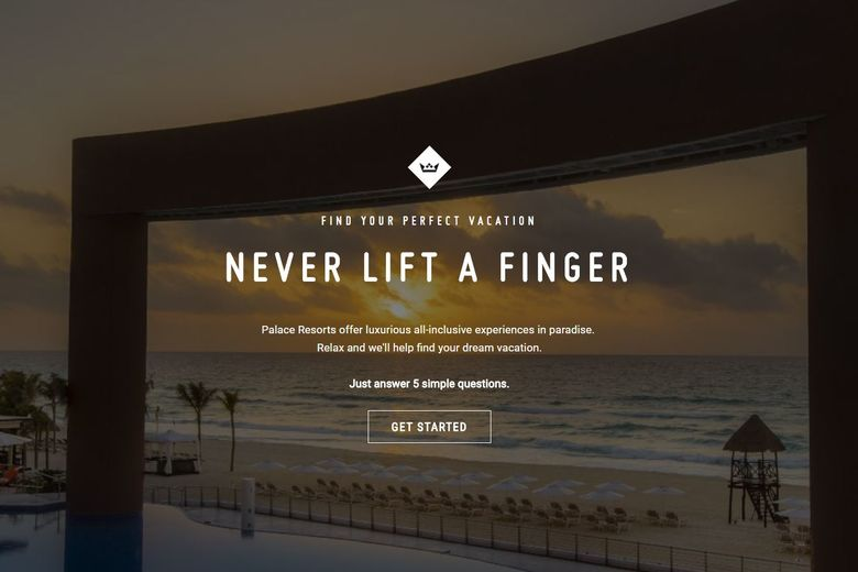 Palace Resorts Uses Eye Tracking in New Marketing Campaign to Make Sure Inspired Travelers Never Lift a Finger