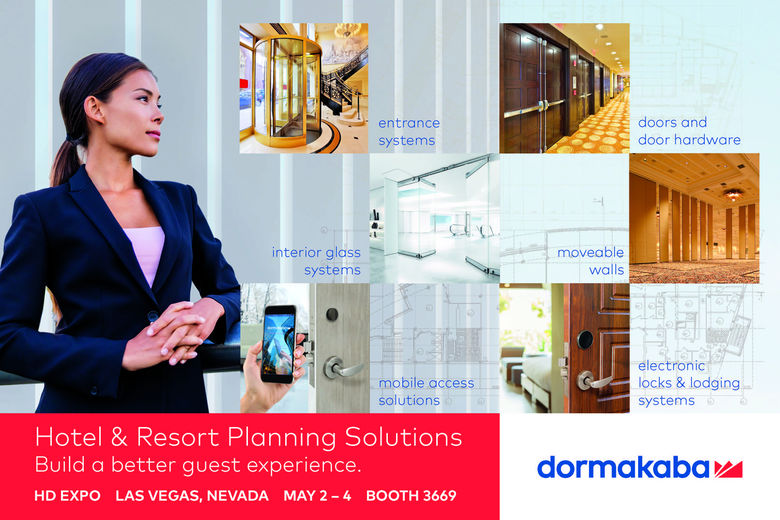 dormakaba Arrives at HD Expo With A Full Suite of Property Entrance and Opening Systems and Electronic Locks