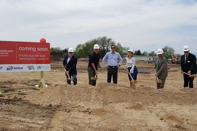 Kinseth Breaks Ground On Towneplace Suites In Janesville!