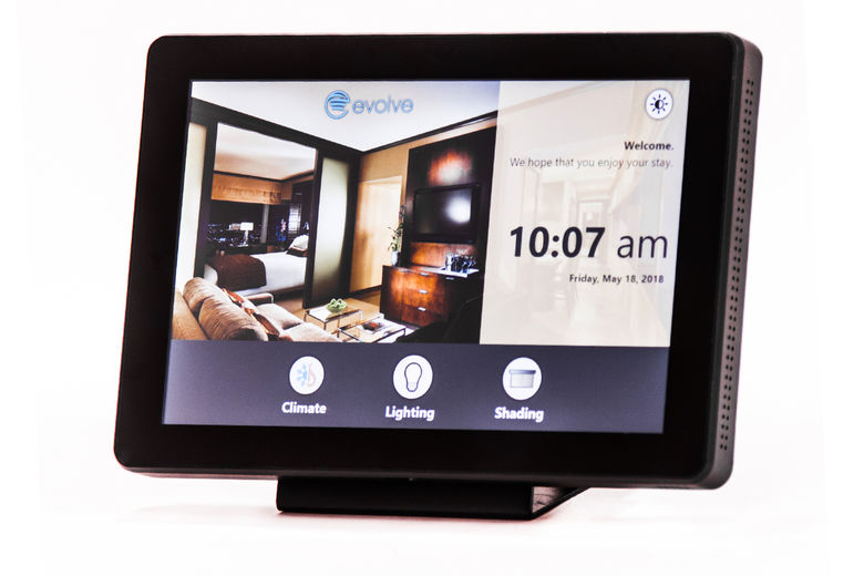 Evolve Controls Launches New Room Controls Technology: Evolve Guest Interface (eGI)