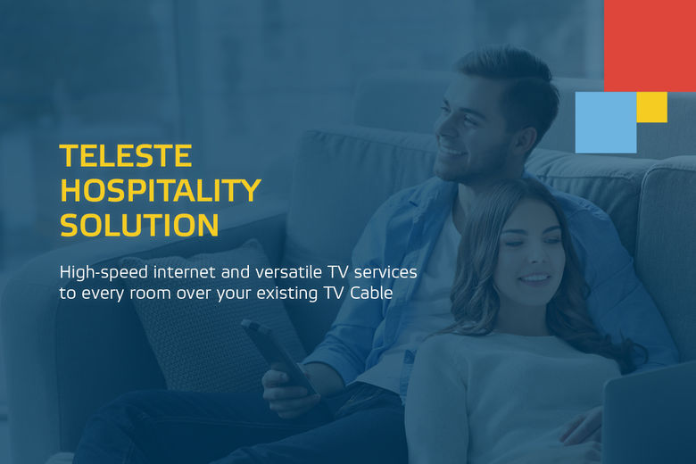 Why rewire when you can deliver superior Guest Wi-Fi and TV services over your existing TV Cable